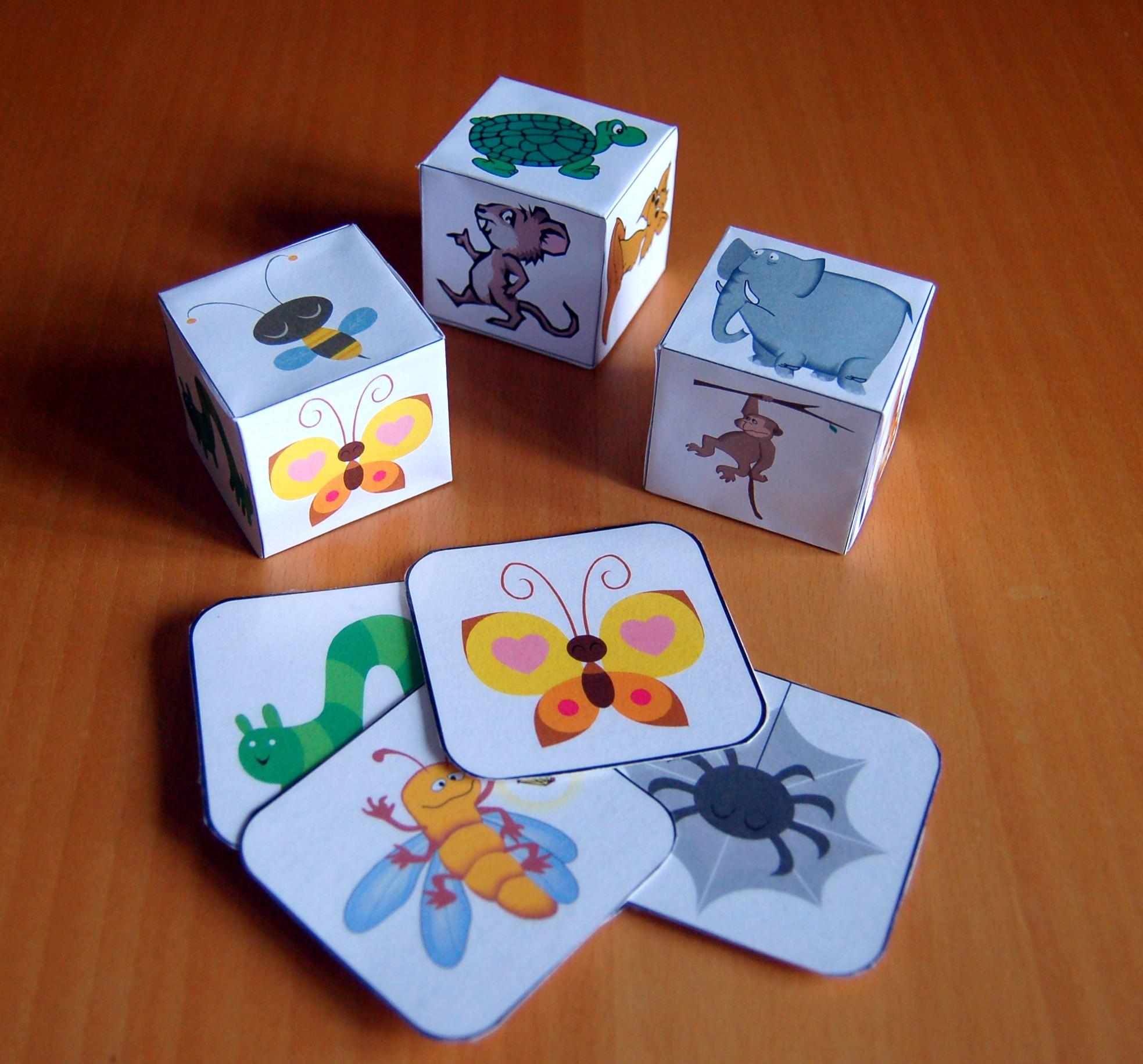 Favori Giochi da tavolo per bambini: i dadi degli animali | HomeMadeMamma AS14