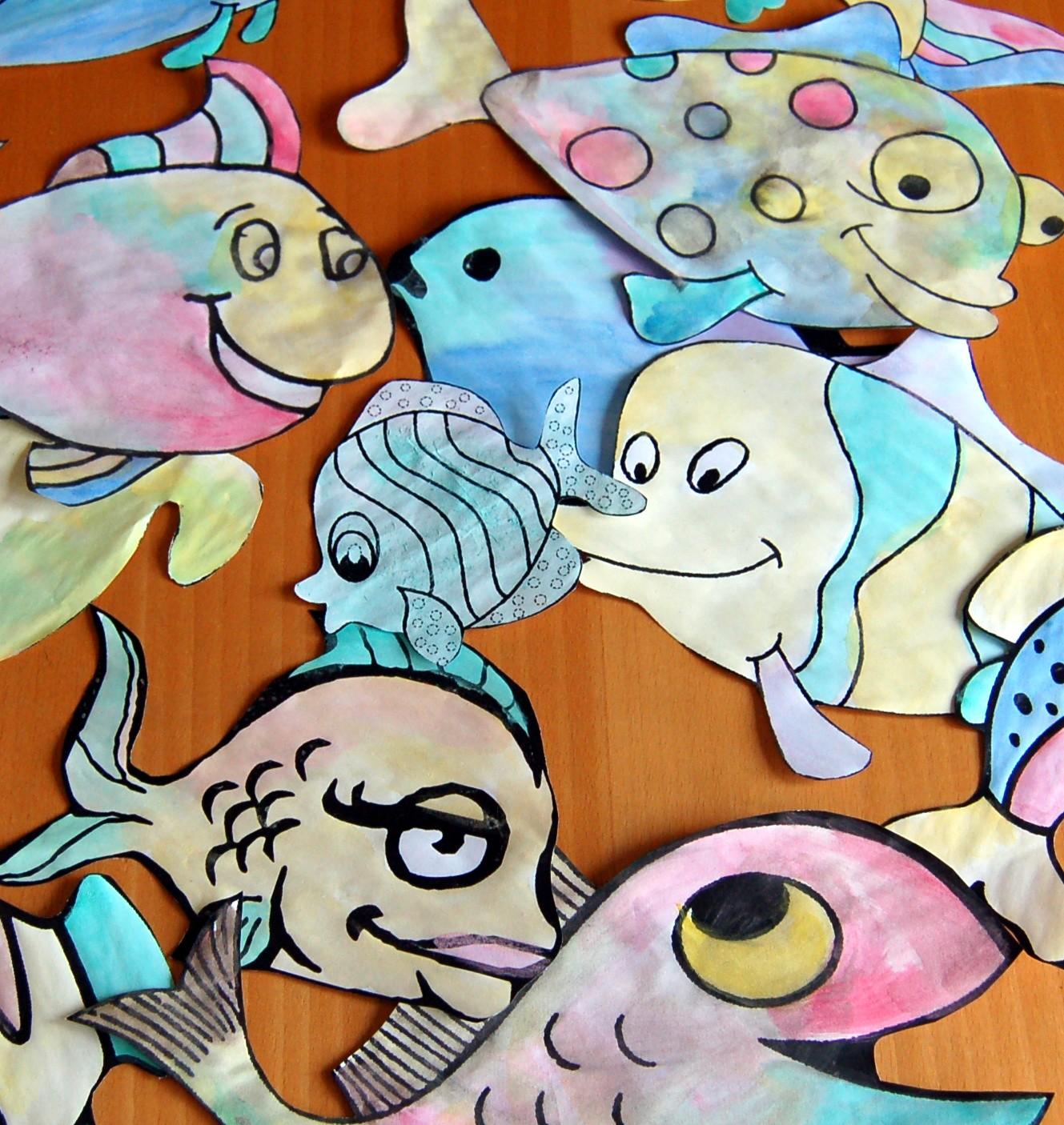 Pesce d aprile homemademamma for Disegni pesciolino arcobaleno