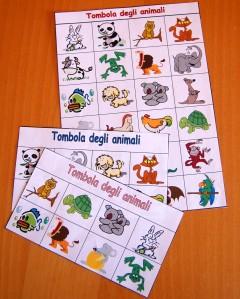 tombola animali