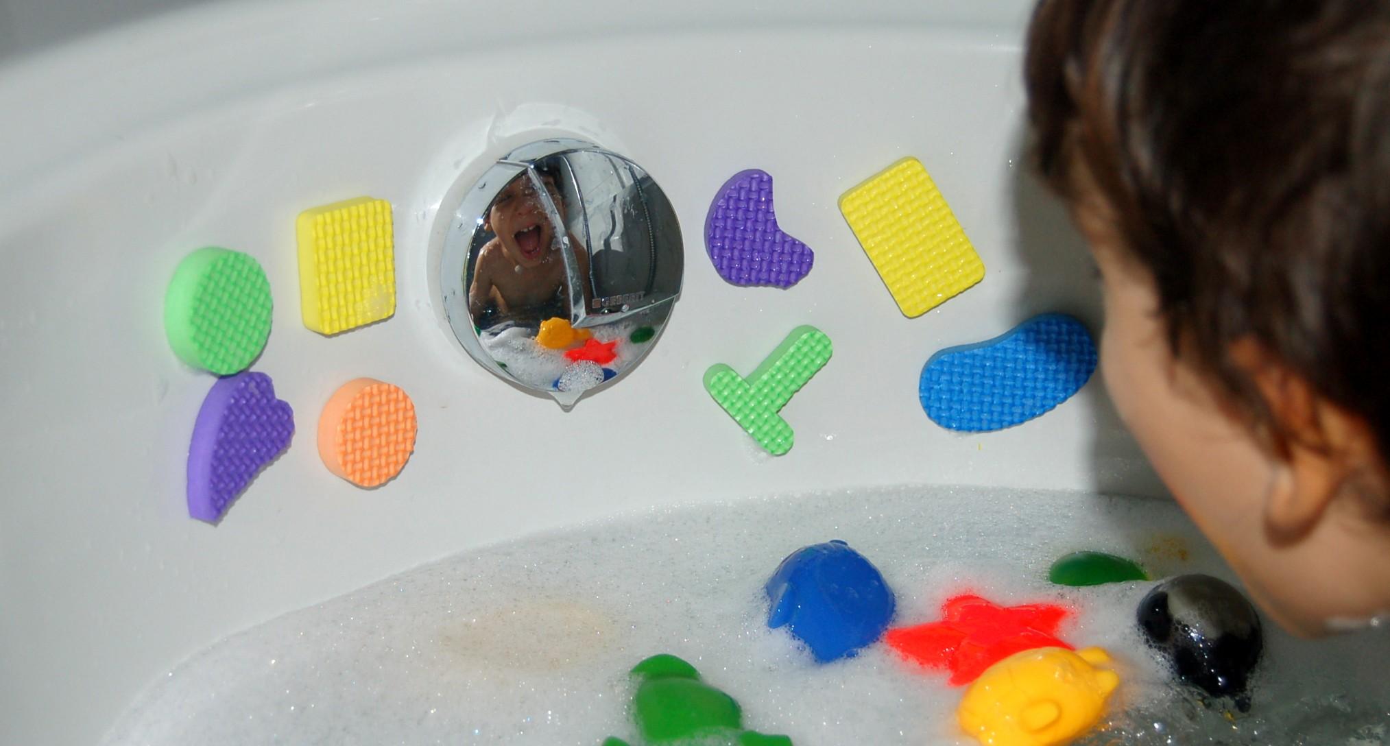 Vasca Da Bagno Bimbi : Giochi fai da te da bagnetto le costruzioni magiche homemademamma