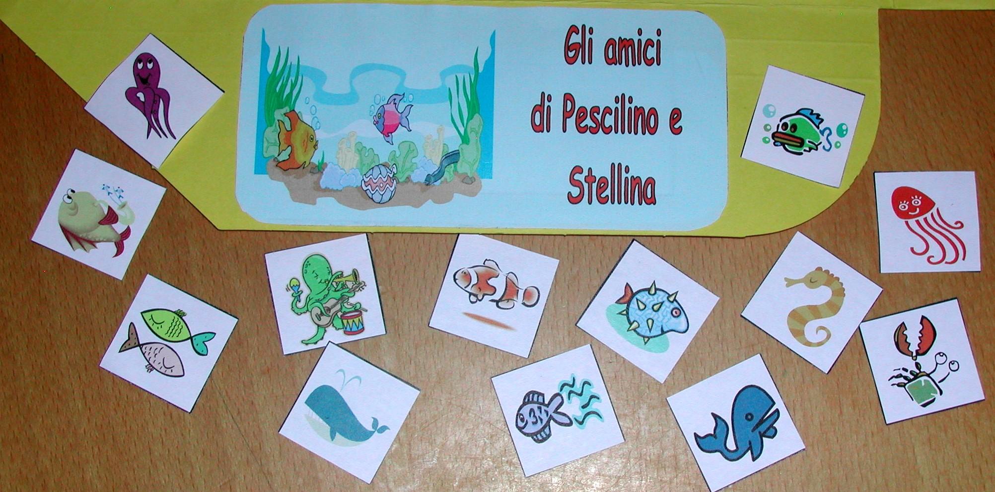 Attivit nido homemademamma page 4 for Disegni pesciolino arcobaleno