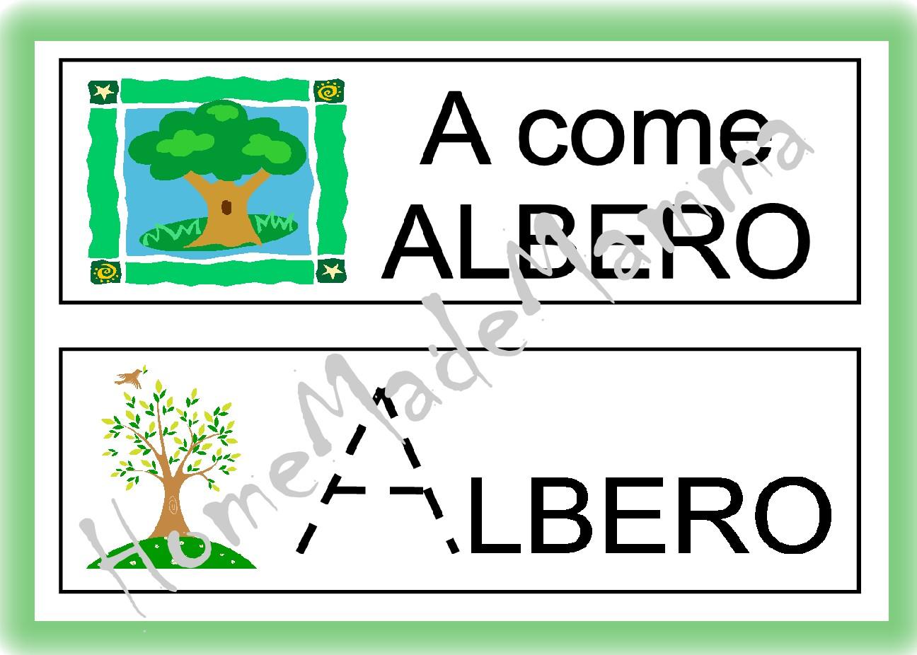 abbastanza imparare alfabeto | HomeMadeMamma KH94