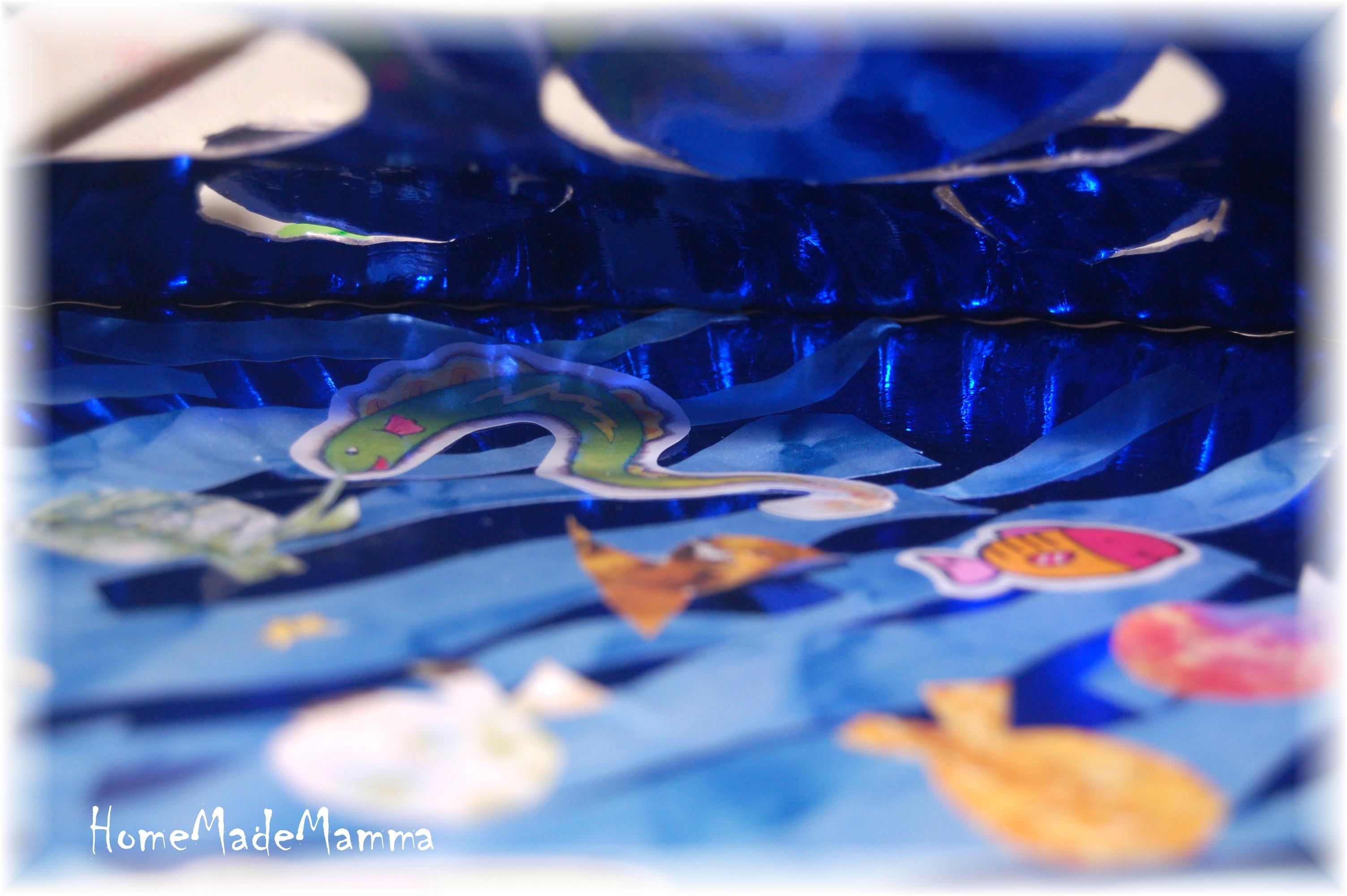 Lavoretti con la carta homemademamma for Disegni pesciolino arcobaleno
