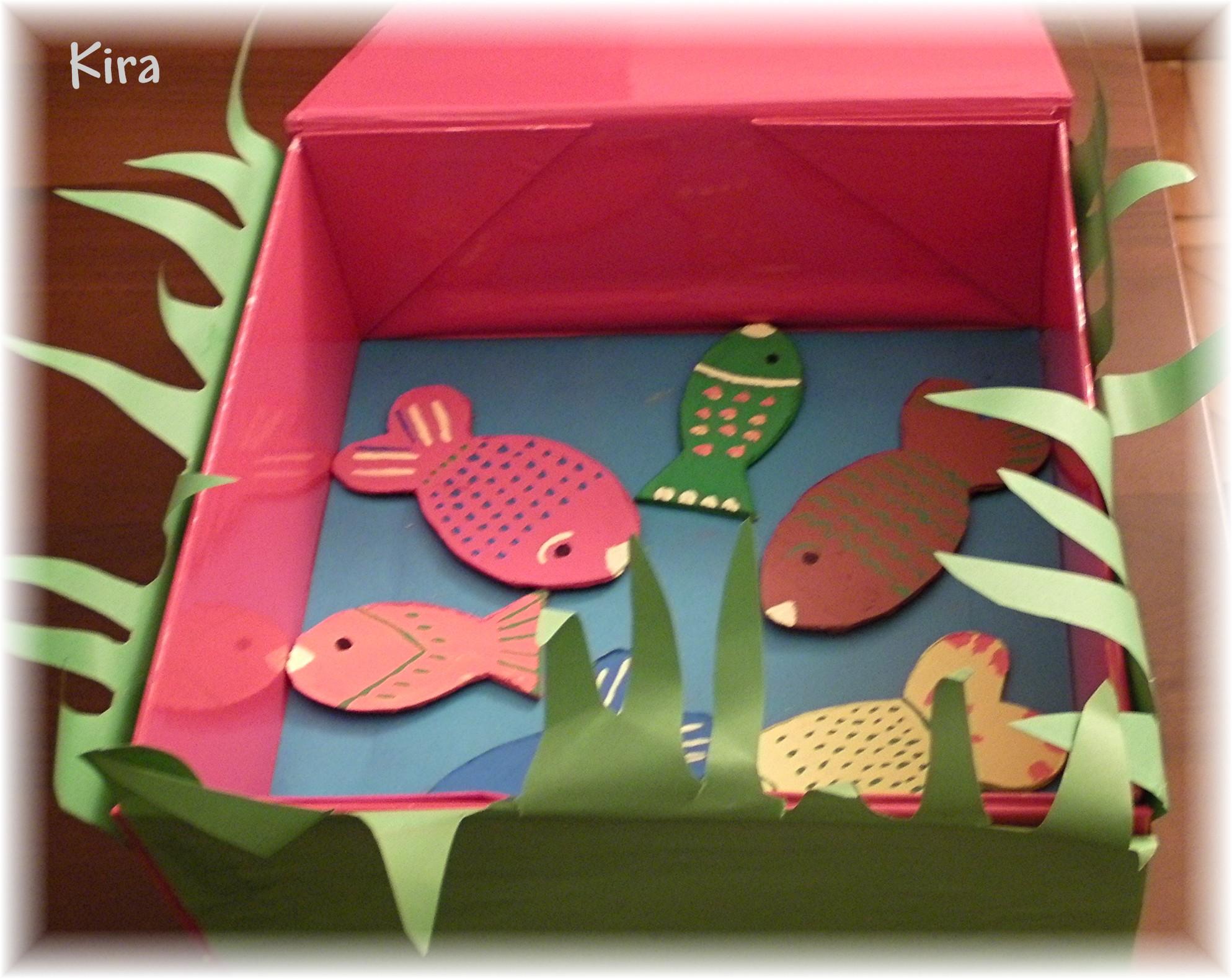 Creare animali carta homemademamma for Animali da laghetto